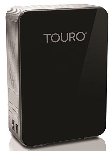 Hitachi Touro Desk DX3 4TB externe Festplatte (8,9 cm (3,5 Zoll), 5400rpm, 9ms, 32MB Cache, USB 3.0) schwarz