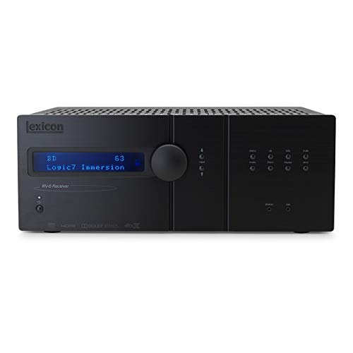 Check Out This Lexicon RV6 7.2.4-Channel Home Theater Receiver with Logic7 Immersion, IMAX Enhanced ...