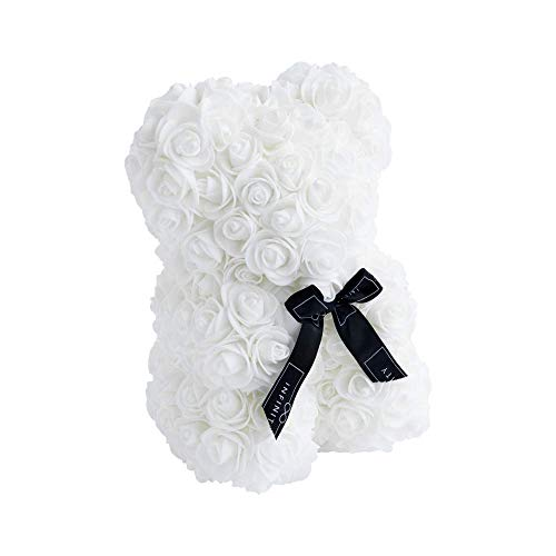 Infinity Flowerbox 6-BS-PW Rosenbär, Weiß, Small