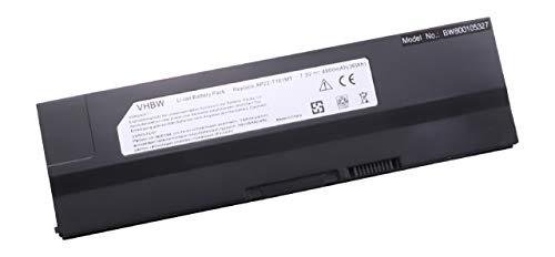 Batería vhbw 4900mAh (7.3V) para portátiles ASUS EEE PC T101, T101MT-EU17-BK, T101MT-EU27-BK,...