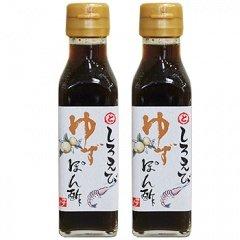 トナミ醤油(株) 富山湾白えびゆずぽん酢 120ml×2本