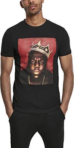 MERCHCODE Herren T-shirt Notorious Big Crown, black, XXL, MC393