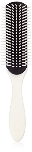 Denman D3 - Cepillo para el cabello, color blanco, 7 hileras
