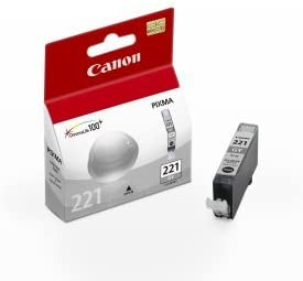 Canon CLI-221 Gray Ink Tank Compatible to MP980, MP990