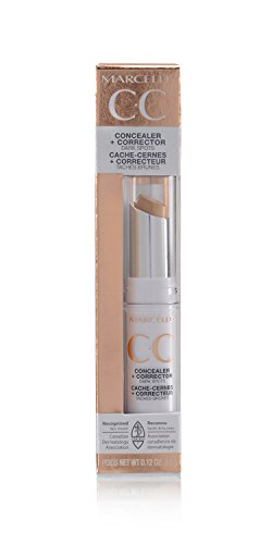 Marcelle CC Concealer + Corrector, Light to Medium, Hypoallergenic and Fragrance-Free, 0.12 oz