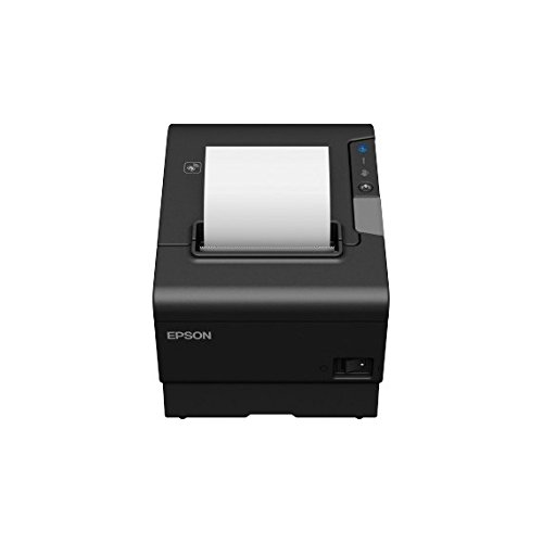 Epson TM-T88VI (551) POS-Thermodrucker, 350 mm/s, Kabel und WLAN, USB Typ-A, USB Typ-B, Bluetooth, Ethernet, USB 2.0