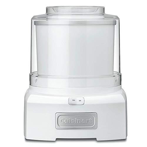 Máquina para Sorvete Branca Cuisinart 127 V - ICE-21
