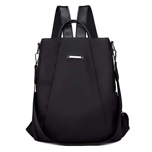 Ogquaton Trendy Wild Fashion Bag Femminile Nylon Canvas Zaino Nuovo Rilasciato