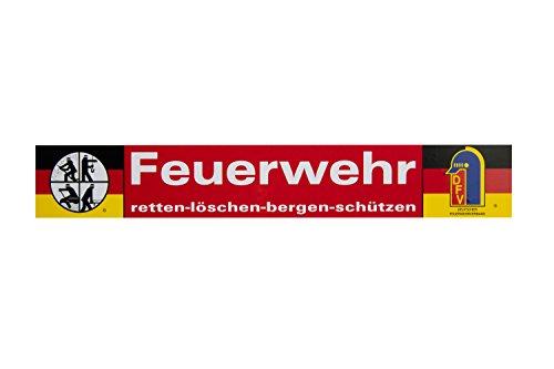 DFV Feuerwehr Aufkleber Original AUßENKLEBEND Retten Löschen Bergen Schützen 40x6cm