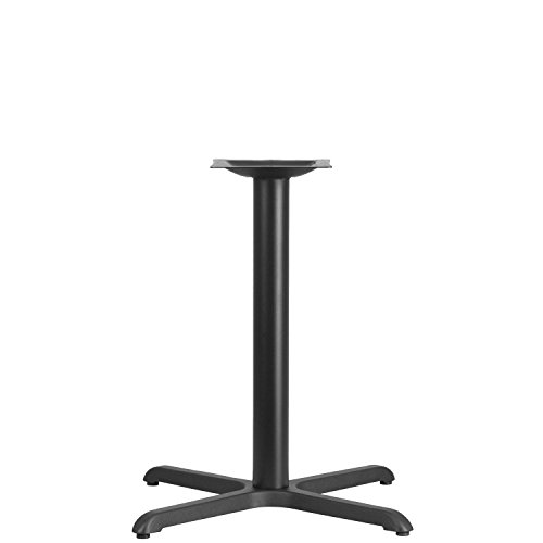 Flash Furniture 30'' x 30'' Restaurant Table X-Base with 3'' Dia. Table Height Column