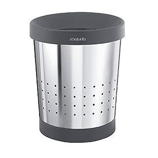 Waste paper bin, stainless steel ,capacity 5 l, HxØ 238 x 213 mm (B000ALF3G0) | Amazon price tracker / tracking, Amazon price history charts, Amazon price watches, Amazon price drop alerts
