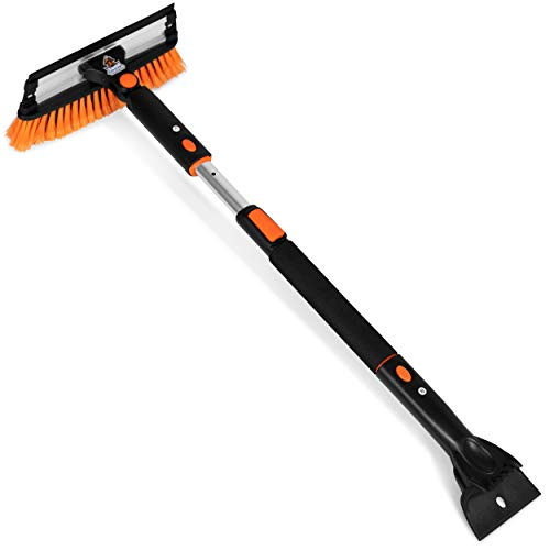 "Snow Moover 39"" Extendable Snow Brush"