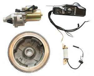 Kit Arranque Electrico Honda, Zanetti GX 240, GX 270. Pieza Compatible