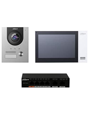 Dahua - Kit de teléfono con videoportero Dahua Complete Surface IP V - KIT-CIT02