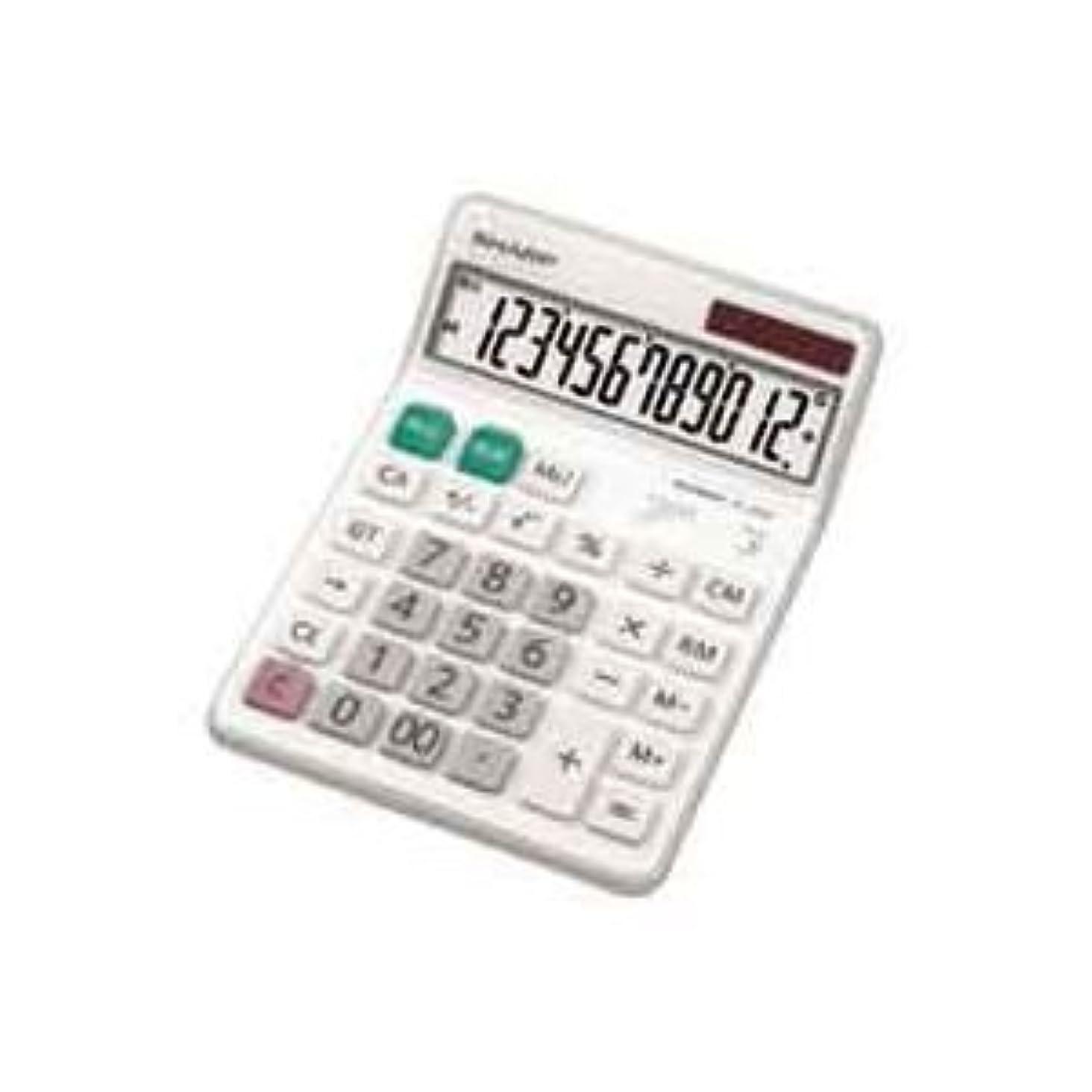 すり減る歯科のグリーンランド( お徳用 30セット ) シャープ SHARP 電卓 12桁 EL-S452X