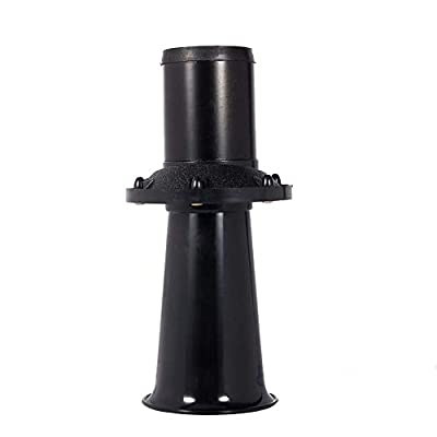 110DB Old Style Horn,12V 110DB Auto Car Truck Antique Vintage Old Style Horn Siren AHH-OOO-GAH AHOOGA OOGA Vehicle Horn Heavy Equipment (Black)