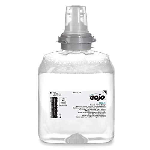 GOJO® GJ566502 - Jabón de manos de espuma suave de 1200 ml para dispensador GOJO® TFX-12TM