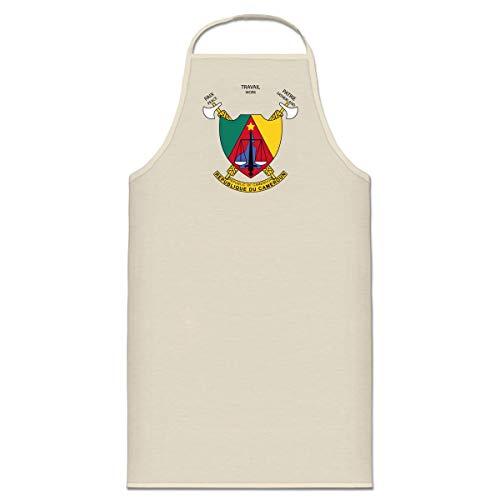 Shirtcity Kamerun Wappen Kochschürze by