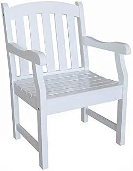 Vifah V1339 Bradley Outdoor Wood Armchair
