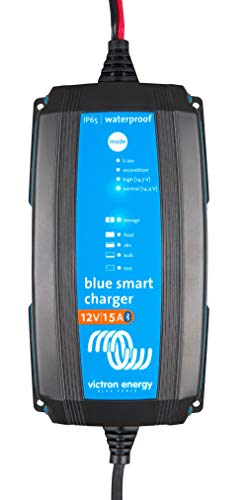 Victron Energy Blue Smart IP65 12-Volt 15 amp Battery Charger (Bluetooth)