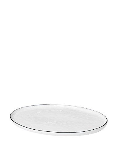 Broste Copenhagen Assiette à sel ovale 30 cm L