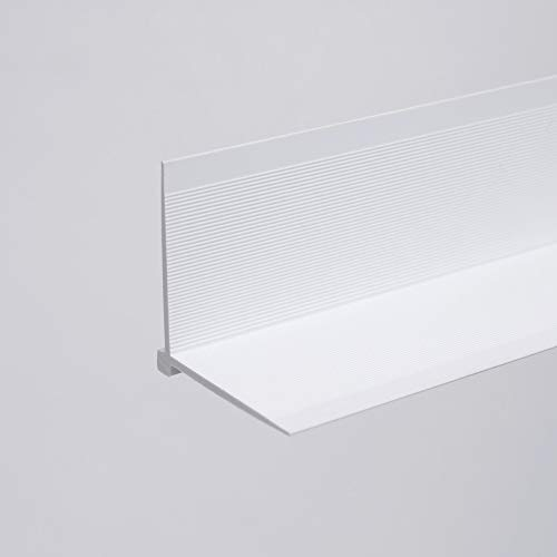 Tapeteneckleiste Tapetenwinkel Tapetenaußenwinkel - Weiß - 23 x 23 x 2.600mm
