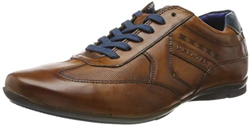 Daniel Hechter Herren 821248021110 Sneaker, Braun (Cognac/Blue 6340), 43 EU