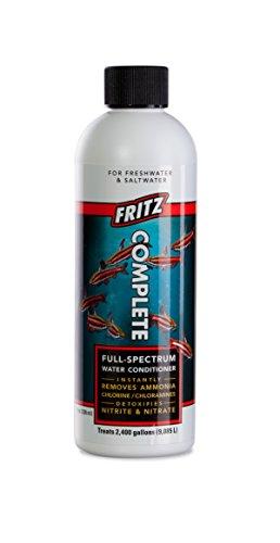 Fritz Aquatics - Fritz Complete Water Conditioner/Dechlorinator for Fresh & Salt Water Aquariums, 8 oz