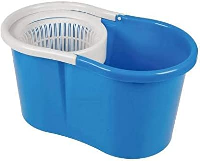 ABI CLEANING SOLUTIONS Easy Magic Floor Mop 360° Bucket PVC (Mop Bucket Only, Assorted Color)