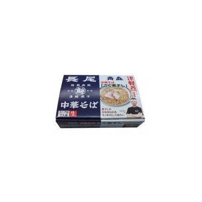 銘店シリーズ 箱入青森長尾中華そば(4人前)×10箱セット
