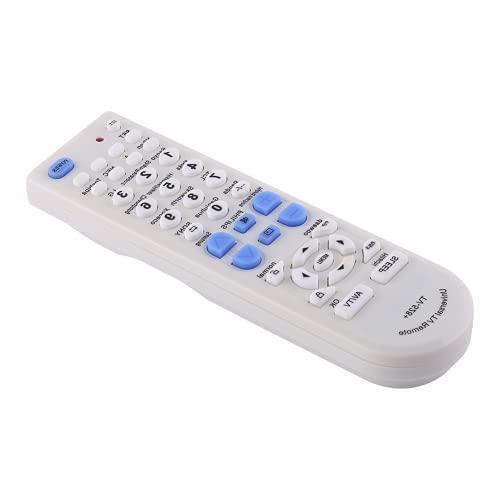 FOLOSAFENAR Control Remoto de, Control Remoto Universal a Prueba de Agua sin programación Funcionamiento Completo para la mayoría de los televisores