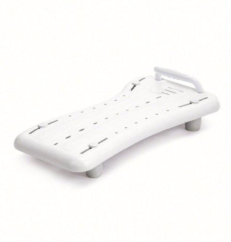 Dietz Badewannenbrett Santilo Badebrett mit Haltegriff Länge 74 cm (Einstellmaß 38-65 cm)