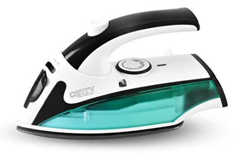 Camry CR5024 Plancha de Vapor para Ropa, de Viaje, Fácil Planchado, 840 W, 5 litros, 0 Decibeles, Plástico, Verde