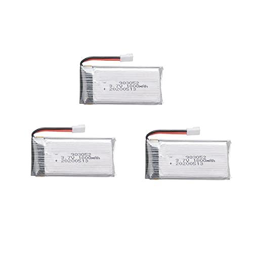 3 Pz 3.7v1800mah Batteria Ricaricabile Ai Polimeri Di Litio 903052, Per Ky601s Syma X5 X5s X5c X5sc X5sh X5sw M18 H5p H11d H11c Pezzi Di Ricambio Per Telecomando Drone