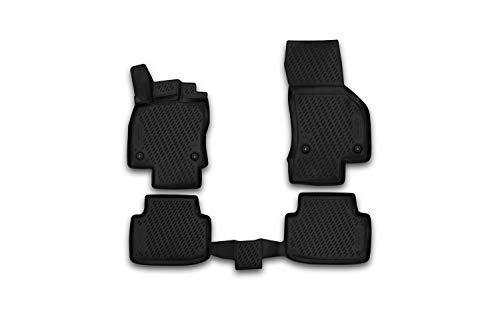 Element EXP.CARVLK00001 Passgenaue Premium Antirutsch Gummimatten Fußmatten für VW Passat B8 Limousine, Variant, Alltrack, GTE 3 - Jahr: 15-20, Schwarz, Passform