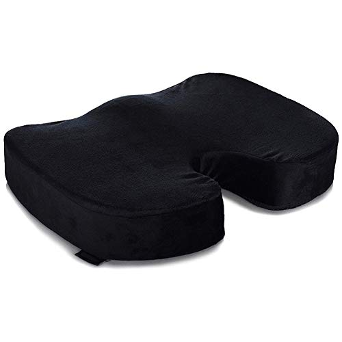 Fintass Kantoor Stoel Coccyx Kussen Auto Stoel Kussen Tailbone Memory Foam Pad voor Thuis Kussen U vorm Ontwerp Om Tailbone pijn te verlichten