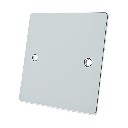 Alliance Electrical FPC1GBP Elektrische blindplaat, 1 versnelling, plat, gepolijst chroom