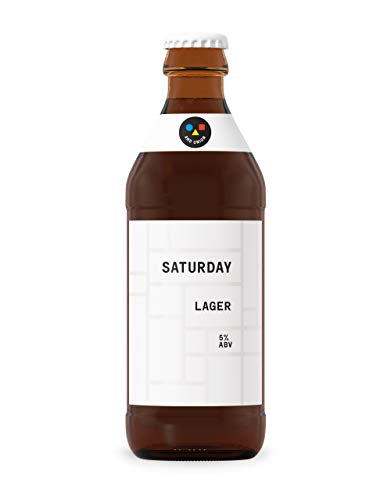 AND UNION Craft Beer, SATURDAY Lager, 5% Zwickel Helles Bier (18 x 0.33 l)