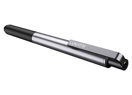 LunaTik Alloy Touch Pen Stylus/Ink Pen for iPad, iPhone, iPod Touch/Other Touch Screens (PASLV-020)