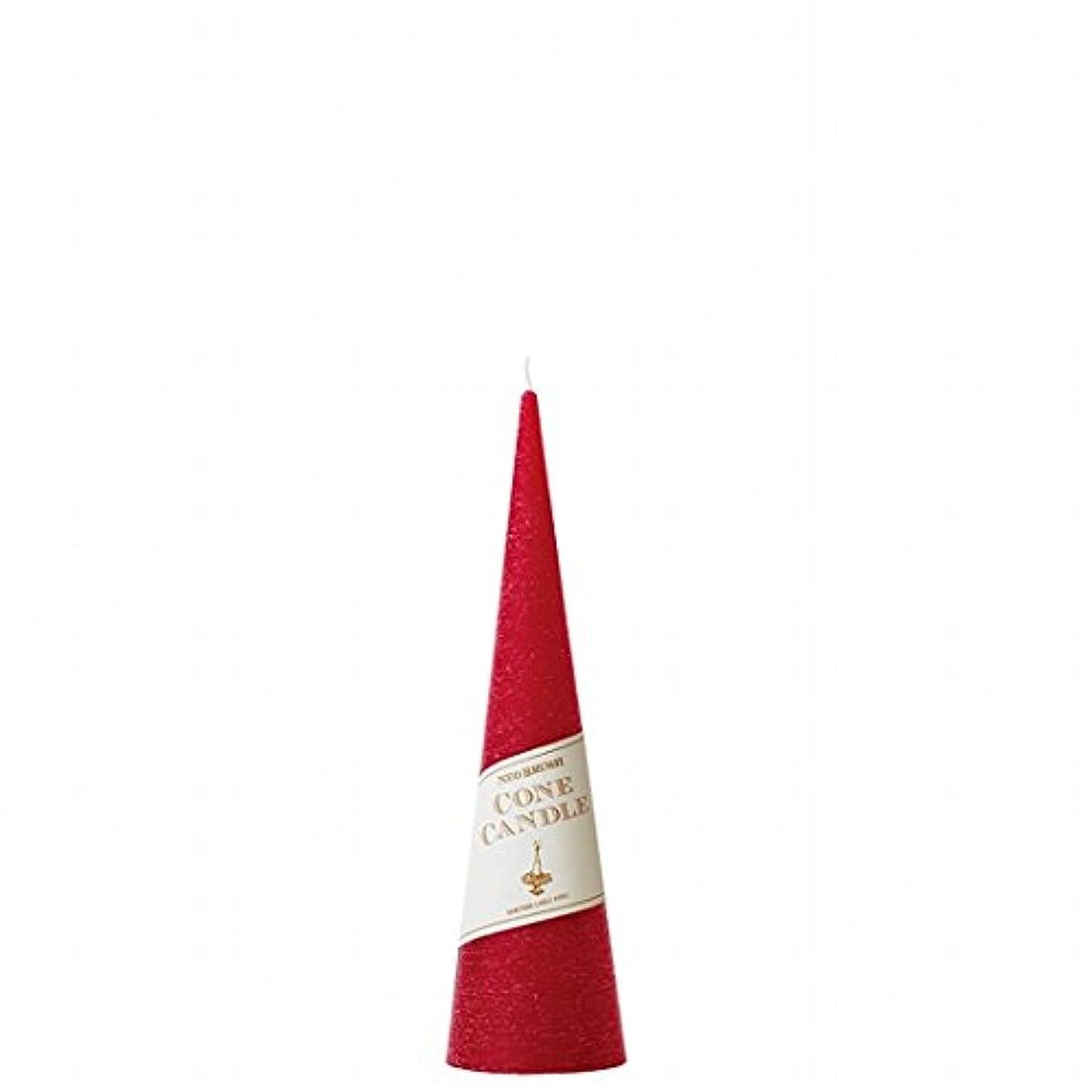 苦しみ注入慣らすカメヤマキャンドル(kameyama candle) ネオブラッシュコーン 180 キャンドル 「 レッド 」