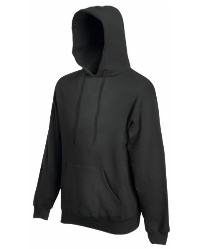 Fruit of the Loom - Sudadera con capucha para hombre Gris - Light Graphit S