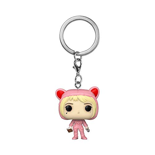 Funko Pocket Pop! Birds of Prey Harley Quinn - Llavero exclusivo de corazones rotos