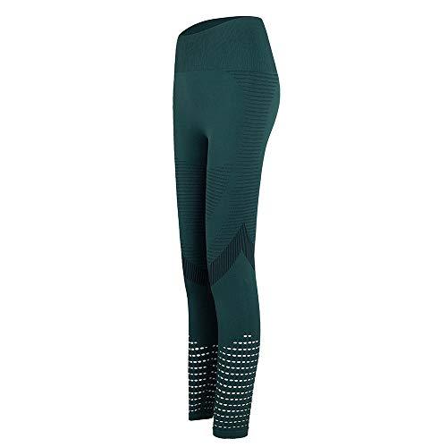 ArcherWlh Yoga Pants,Pantalones de Fitness de la Cadera del melocotón de Las Mujeres Europeo DE AMAZONES Hips Tight Yoga Pantalones otoño e Invierno Corriendo Pantalones-Tinta_SG