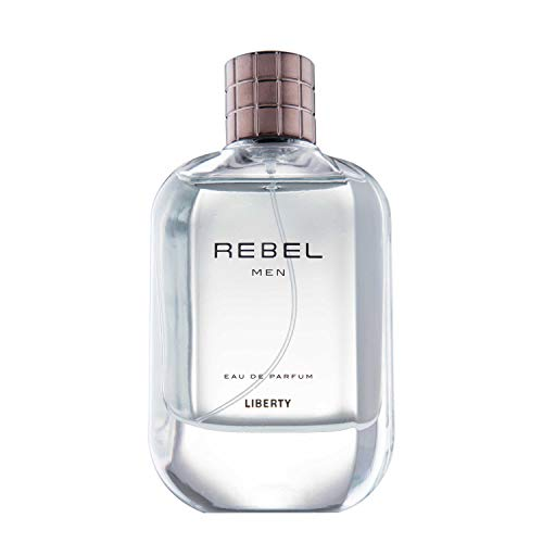 Liberty LUXURY Rebel Perfume (100ml / 3.4 Oz) for Men, Woody Aromatic, Lemon, Lavender, Tobacco, Musk Notes, Long Lasting Smell, Crafted in France, Eau de Parfum (EDP) - (Rebel)