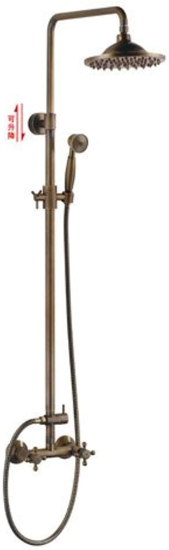 MangeooAlle Kupfer antik Bugle groe Dusche Dusche europischen Stil einfach Badewanne Dusche, Dusche ohne Wasser eingestellt