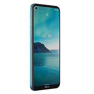 Nokia 3.4 -Smartphone 6,39'' HD+ (3GB RAM, 64GB ROM, Cámara 13MP y 15MP, Batería 4000 mAh , Qualcomm Snapdrago 460), Azul [Versión ES/PT]
