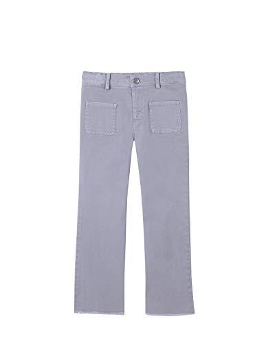 Gocco Pantalon Campana Pants, Gris Claro, 43926 Unisex bebé