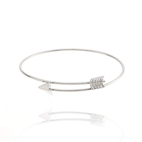 Nobrand Trendy Armband Pfeil Gold Armreif Für Frauen Pfeilspitze Verstellbare Armbänder \U0026 Armreifen Hochzeitsgeschenk