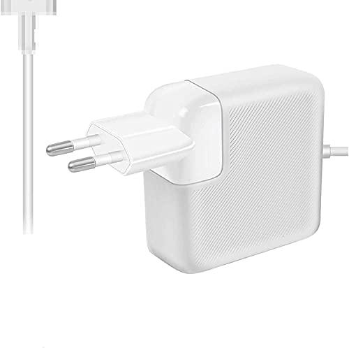 Compatible con Mac Pro alimentador magnético de 60 W, adaptador de corriente T-Tip a partir de finales de 2012, A1435, A1465, A1502, MD212, MD213, MD662.