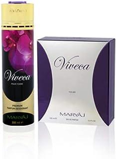 MARYAJ Viveca Gift Set For Women (Edp 100 ml + Deo Spray 200 ml)